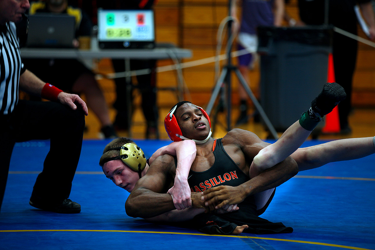 The unbelievable story of high school wrestler Zion Shaver