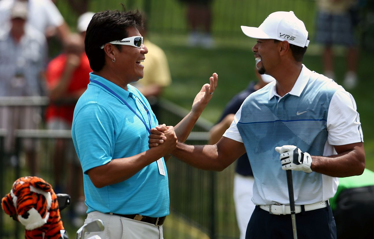 Tiger and Notah Begay III