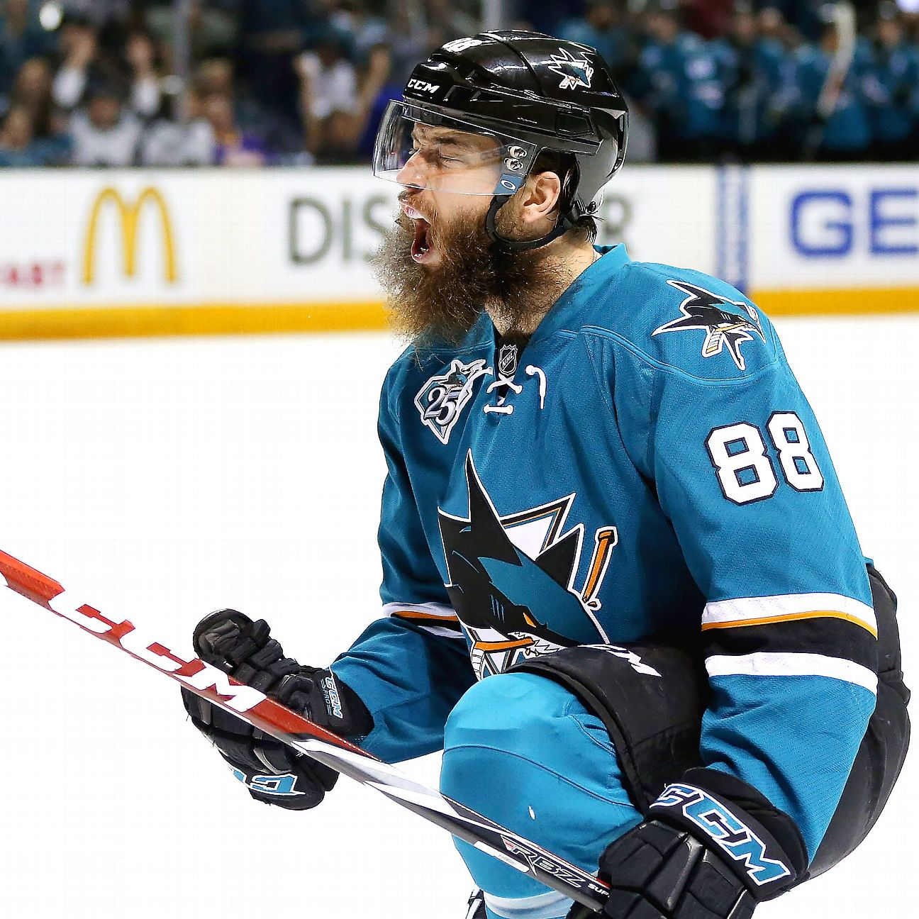 Burns, Sharks Agree To Eight-year Extension