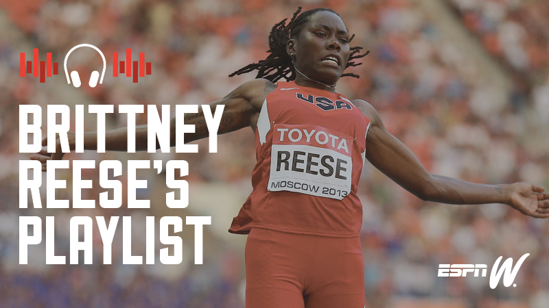 Spotify Athlete Playlist - Brittney Reese