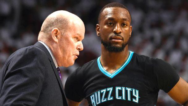 Charlotte Hornets head coach Steve Clifford