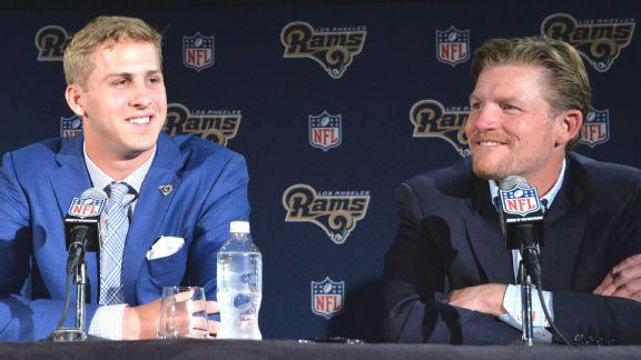 Los Angeles Rams quarterback Jared Goff