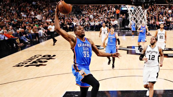 Through the chaos and noise, the Thunder bounce back in Game 2