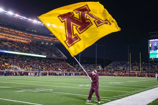 Minnesota Golden Gophers flag