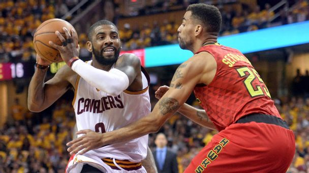 Follow live: Cavs cruising past Hawks in Game 2
