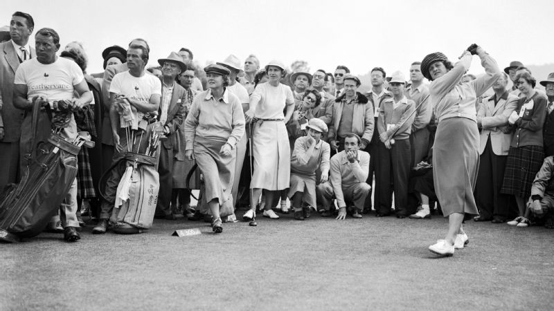 Babe Didrikson Zaharias and Louise Suggs