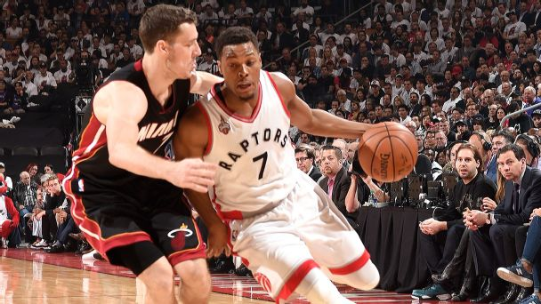 Raptors work OT to get even with Heat