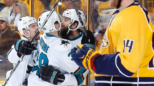 Follow live: Sharks, Predators need double OT
