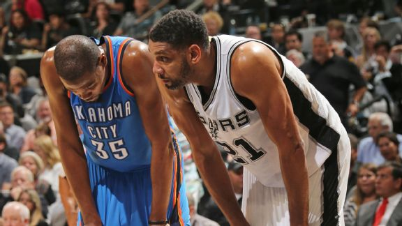 Spurs want in on Durant hunt, too