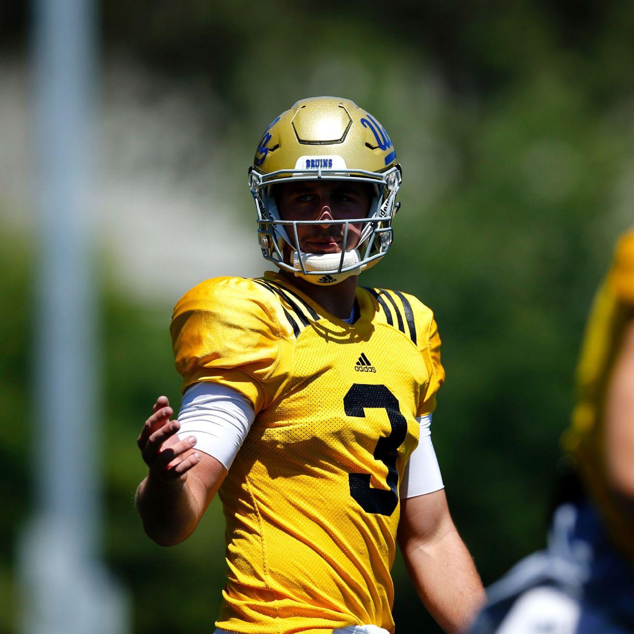 UCLA Bruins QB Josh Rosen: New Offense Should Benefit