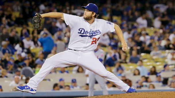 Watch live: Red-hot Kershaw steps into heated rivalry