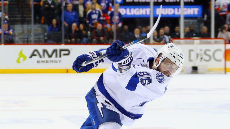 Tampa Bay Lightning Re Sign Leading Scorer Nikita Kucherov ESPN