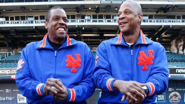 Dwight Gooden and Darryl Strawberry