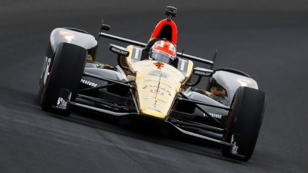 Watch live: Hinchcliffe, Hunter-Reay trade lead at Indy