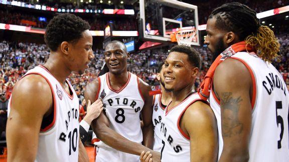 Biyombo block on LeBron had Raptors fans buzzing