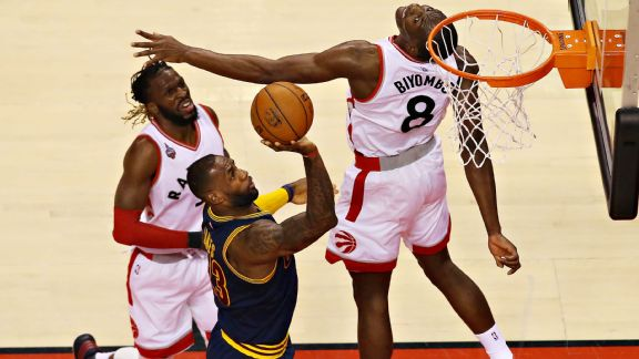Cavs storm back in Game 4, but Raptors hold on for win