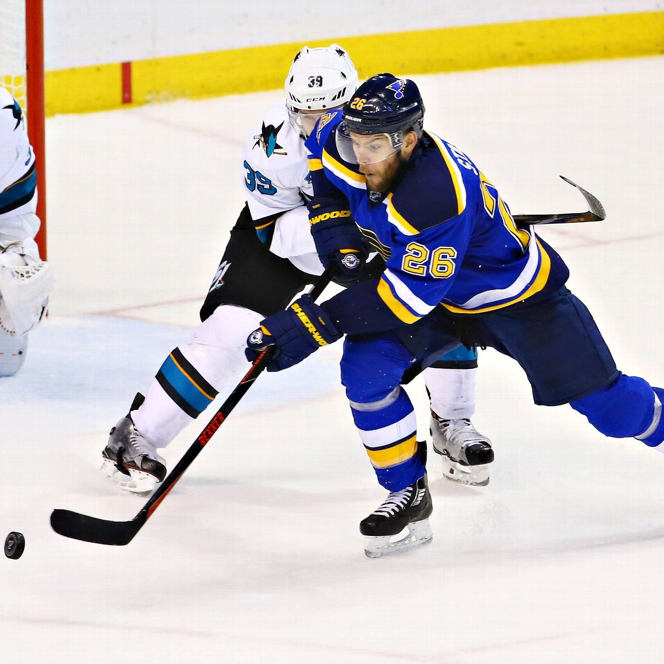 Blues Put Stastny On IR With Upper-body Injury