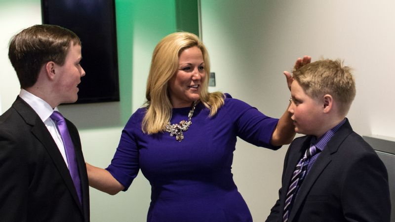 Jennifer Cohen and sons