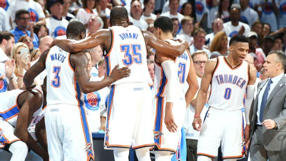 How the Thunder experimented all season to find winning formula