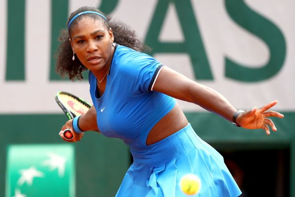 Serena Williams had a 31-6 edge in winners in her second-round victory over Teliana Pereira.
