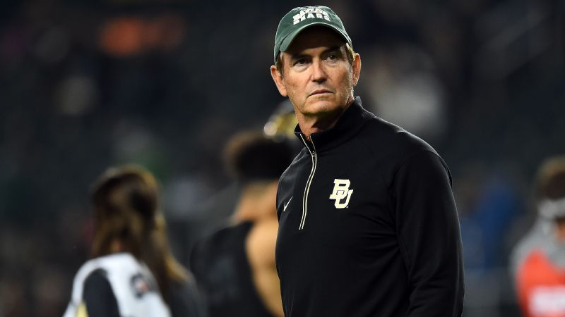 Baylor suspended football coach Art Briles, with intent to terminate, after releasing a report on the school's response to allegations of sexual assaults by students, including several football players.