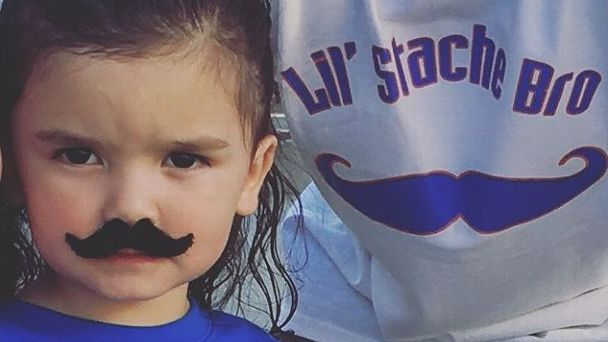 'Lil' Stache Bro' returns to support Thunder in Game 6