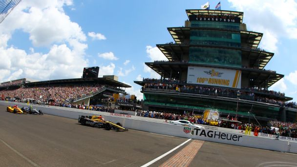 Watch live: Castroneves leading Kanaan at Indy