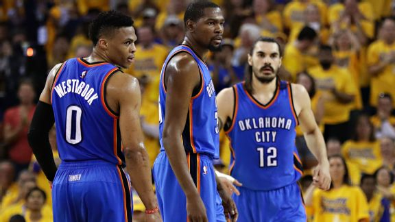 Thunder dumbstruck: Squandering 3-1 lead leaves OKC at a loss