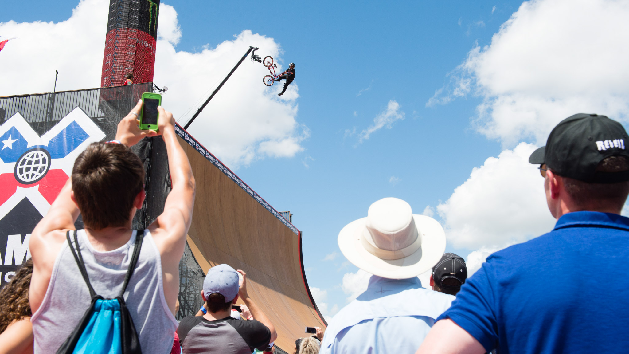 Skate/BMX Big Air Doubles, Sunday at 11 a.m.