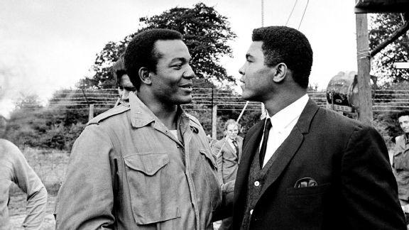 Jim Brown and Muhammad Ali