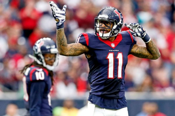Texans WR Jaelen Strong suspended 1 game for violating substance abuse policy