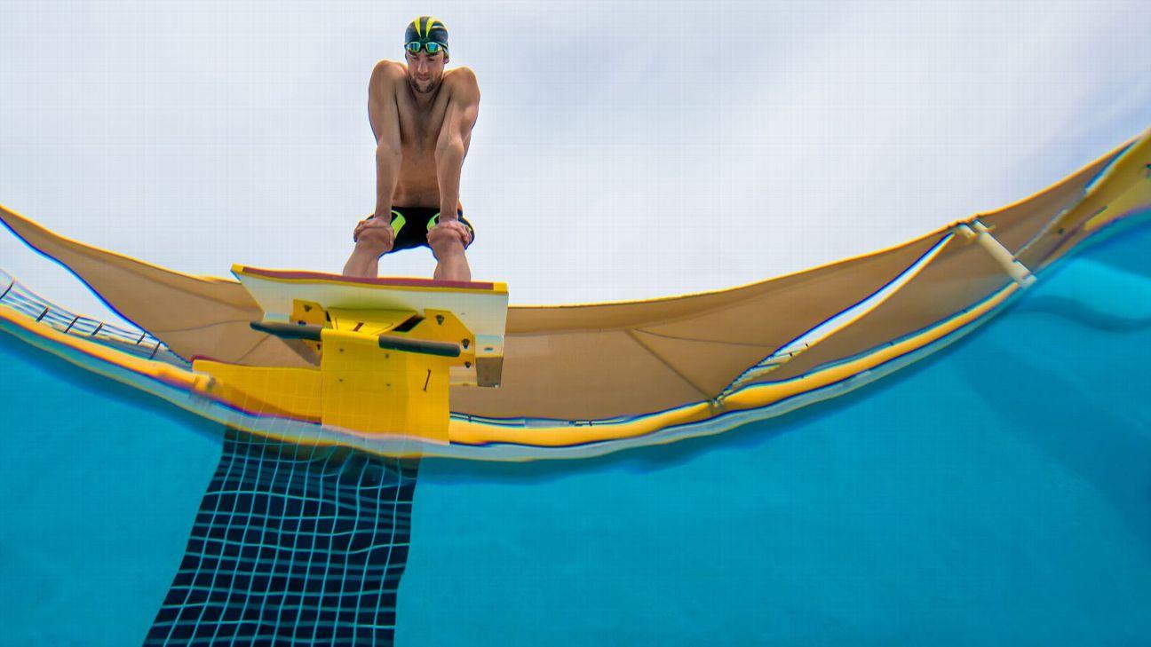Michael Phelps' Final Turn