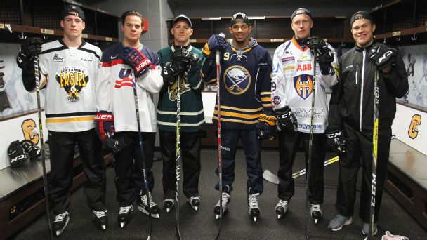 Follow live: NHL draft is underway