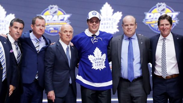 Follow live: Matthews goes No. 1 in NHL draft