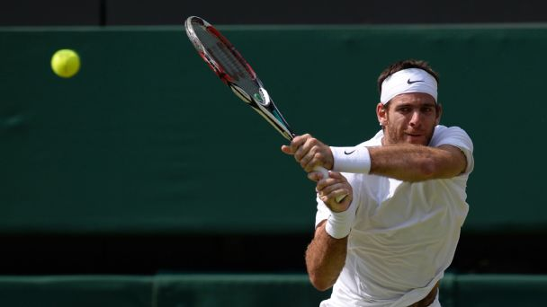Follow live: Del Potro wins tiebreak to take lead