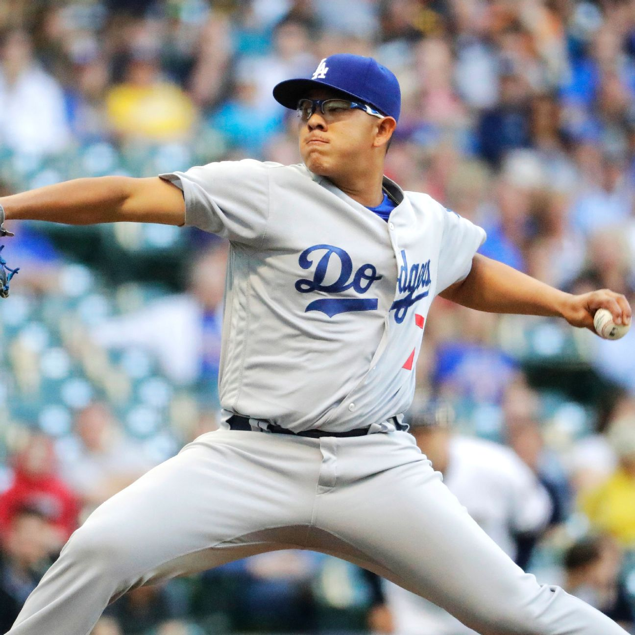 Dodgers' Julio Urias gets first win, waits for word on one ...