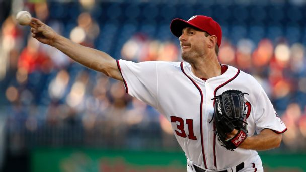 Watch live: Scherzer, Murphy have Nationals in control