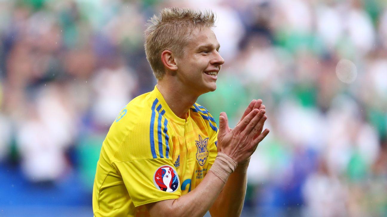 Manchester City Oleksandr Zinchenko joins PSV Eindhoven on loan