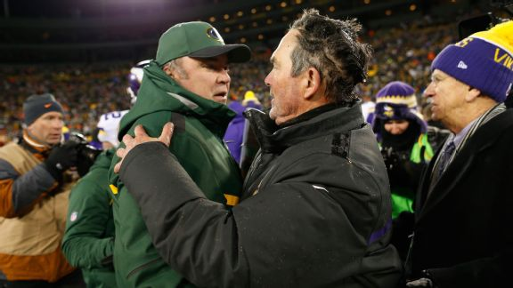 Mike McCarthy and Mike Zimmer
