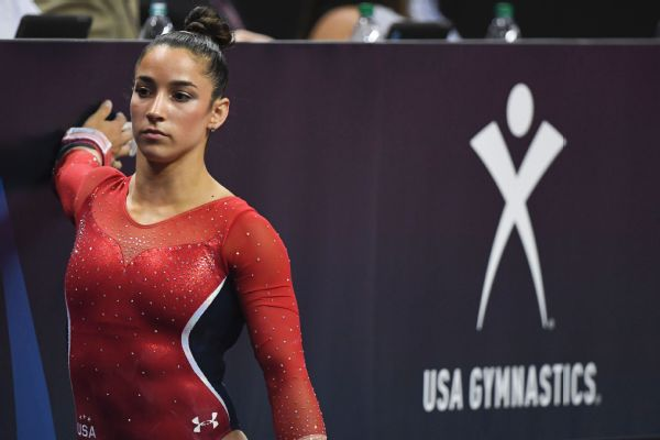 Aly Raisman says USA Gymnastics hasn't made enough changes in the wake of sexual abuse by Larry Nassar. USA Gymnastics is ignoring us, Raisman told OTL. They're not creating change, so we have to share our stories and reiterate how traumatized we are.