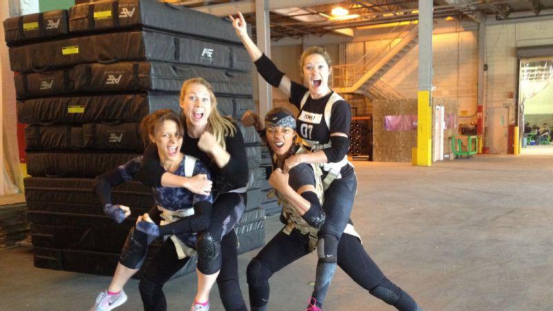 Stuntwomen of Ghostbusters