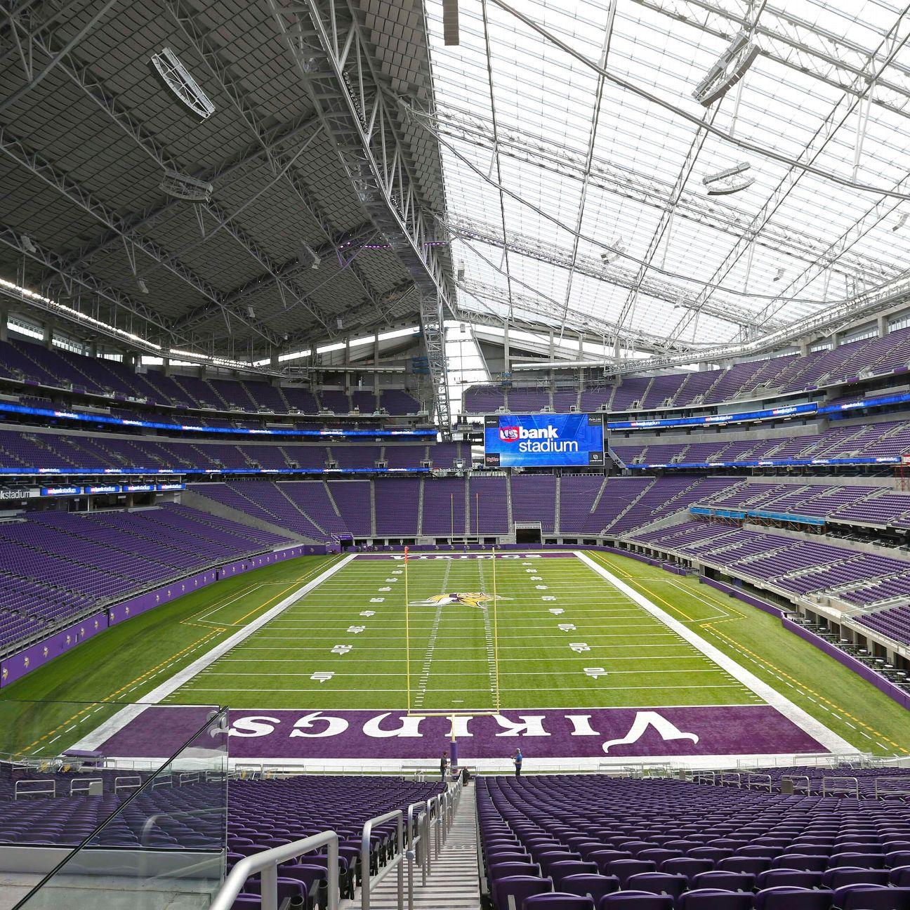 Minnesota Vikings Challenge At U S Bank Stadium