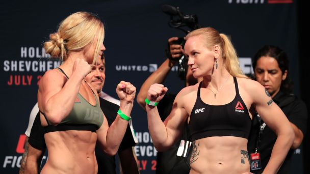 Holm upset by Shevchenko at UFC Fight Night