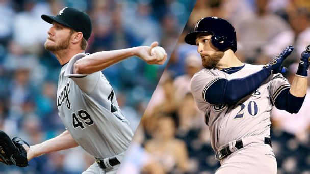 Top trade targets (plus best fits): Sale, Lucroy drawing plenty of calls