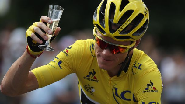 Chris Froome wins Tour de France for third time in four years