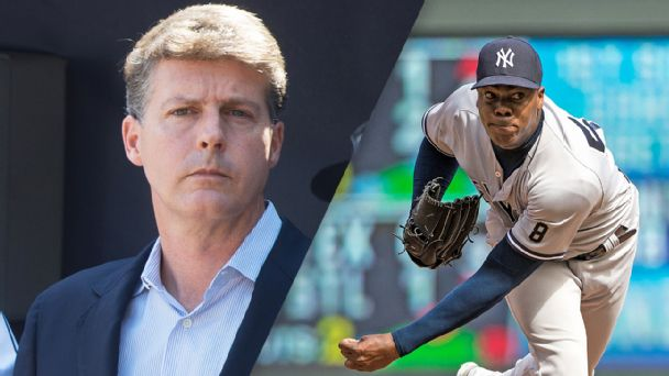 With Aroldis Chapman deal, Prince Hal Steinbrenner shows he can be as ruthless as King George