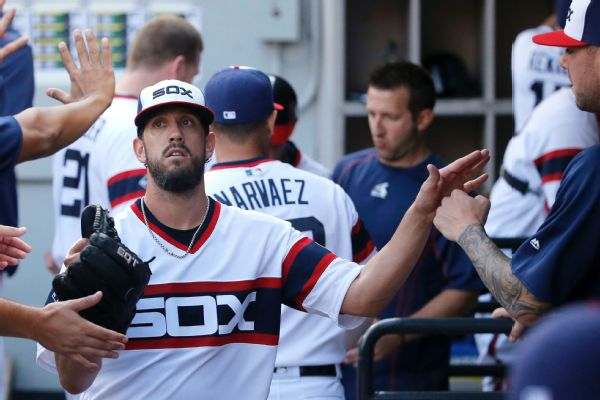 Chicago White Sox place CF Leury Garcia (sprained finger) on DL