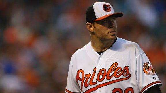 Chris Tillman's off night shows just how good Orioles' ace has been