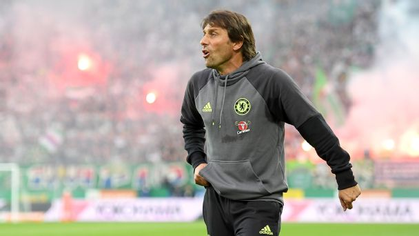 Antonio Conte aiming to rebuild Chelsea from a 'very strange' situation