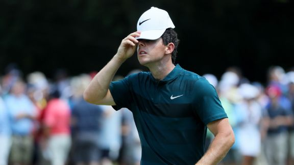 Balky putter holding McIlroy back at PGA Championship
